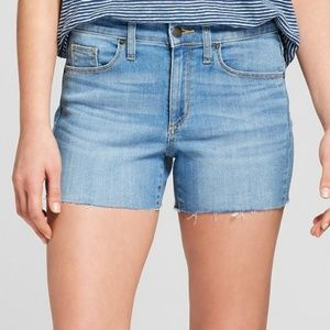 NWT Universal Thread High Rise Midi Jean Shorts